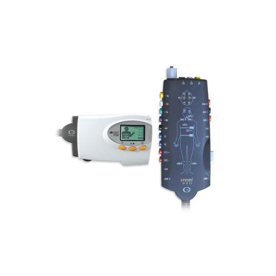 PSG complet pour plus de commodité en laboratoire. Surveillance Bluetooth pour une liberté et un confort maximum du patient 27 canaux