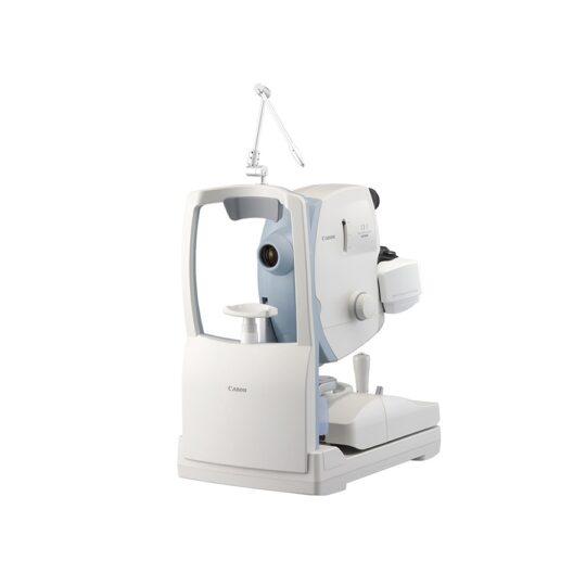 Rétinographe mydriatique avec une fonctionnalité non mydriatique complète. Equipé de filtres optiques de haute qualité.