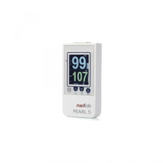 L'oxymètre de pouls PEARL5 avec sa nouvelle technologie de traitement numérique du signal fonctionne de manière fiable.
