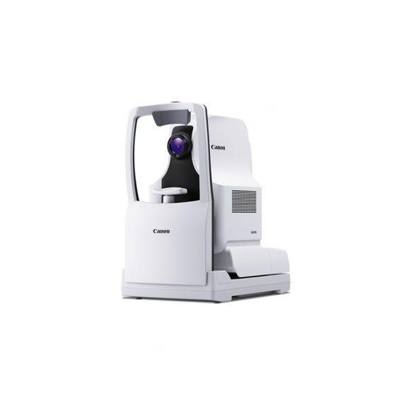 Xephilio OCT-S1, Canon dévoile une technologie de source de lumière révolutionnaire qui vous permet d'acquérir des images à grand angle allant jusqu'à 23 mm en un seul scan.