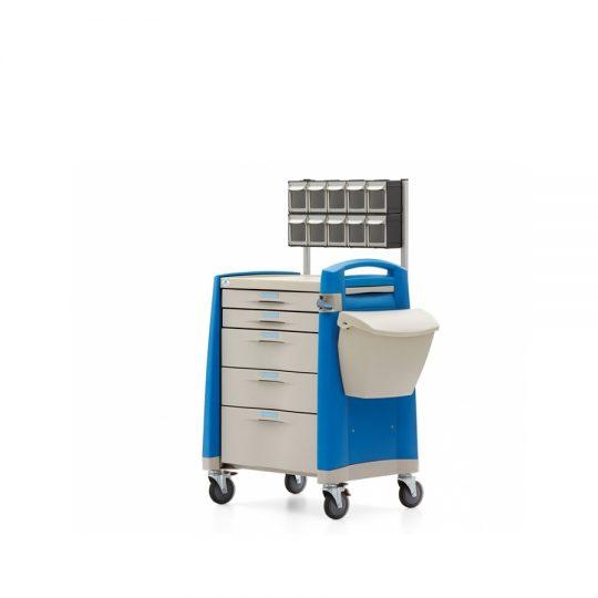 Ref. : AMC-02 / Chariot à médicaments / Casablanca / Medical expert. Chariot de médicaments et d'anesthésie