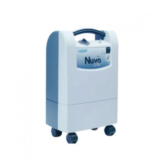 Concentrateur d'oxygène Nuvo Lite 5 est capable de fournir jusqu'à 5 litres d'oxygène en débit continu et fonctionne 24h/24.