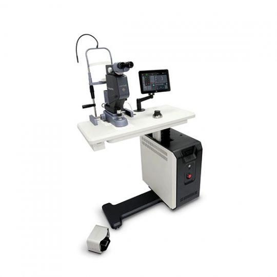 Ref. : LIGHTLAStruscan PRO 577 / Ophtalmologie. Appareil laser multispot TECHNOLOGIE LASER MICROSECOND SP-MODE®