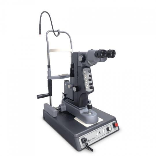 Appareil laser SLT-YAG. Prouvé efficace dans le traitement du glaucome, avec des applications en expansion dans les maladies de la rétine