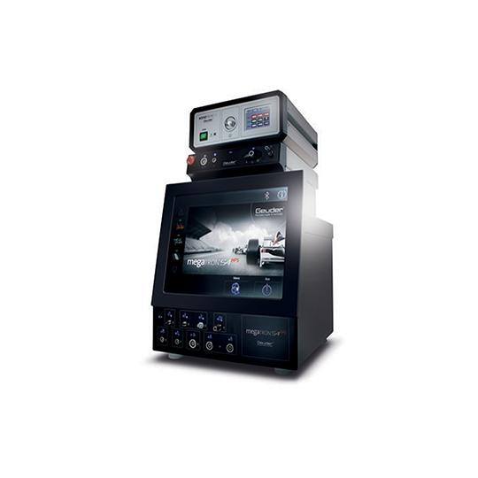 Système ophtalmique de phaco / vitrectomie modulaire avec une technologie sophistiquée et performances maximales.