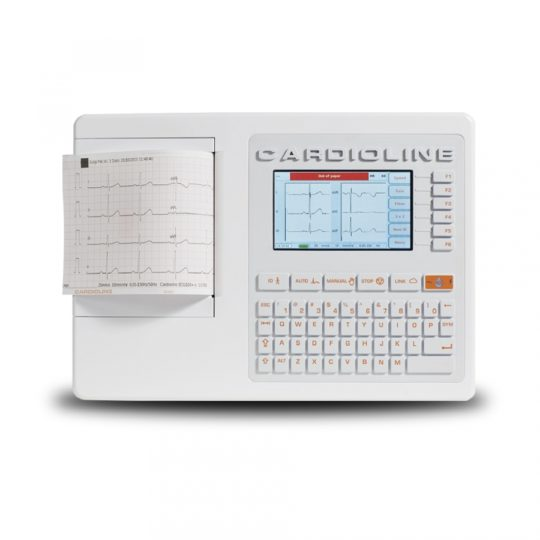 Les électrocardiographes de la série ECG+ font partie de la nouvelle génération de dispositifs Cardioline, destinés aux médecins privés, aux cliniques et aux établissements hospitaliers. La série ECG+ est conçue pour offrir des performances de très haute qualité à un prix raisonnable. ECG100+ permet de procéder aux mesures ECG pour le diagnostic cardiologique. Cet appareil constitue l'état de l'art et à ce titre, il satisfait voire dépasse les standards de référence internationaux les plus exigeants.