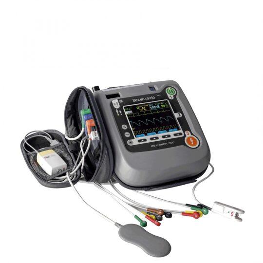 Moniteur défibrillateurmultiparamètrique avec écran couleur haute résolution DISPO chez Medical Expert
