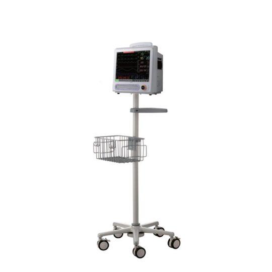 Moniteur patient multiparamètres avec chariot - Medical Expert