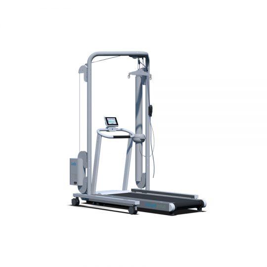 Le système de soutien du poids corporel Lode (BWSS) est spécialement développé pour soutenir les patients qui ne peuvent pas marcher.