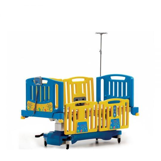 Ref. : ALARA Y / lit-dunite-des-soins-intensifs-pediatrique-4-moteu .Lit pédiatrique électromécanique à 4 moteurs