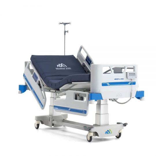Ref. : PLUS A9 / Lit de soins intensifs 4 moteurs / Lit de soins intensifs 4 moteurs réglage électronique