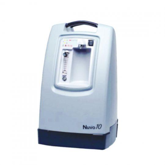 concentrateur-doxygene-nuvo-10. Oxygénothérapie / Pneumologie. : Nuvo 10Concentrateur d'oxygène 10L : Compact, léger, simple, silencieux