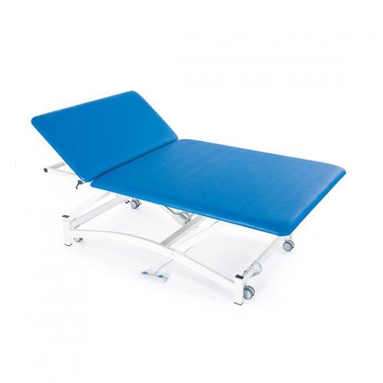 Table à 1 plan réglable électriquement en hauteur pour thérapie concept Bobath, massage et examen médical.